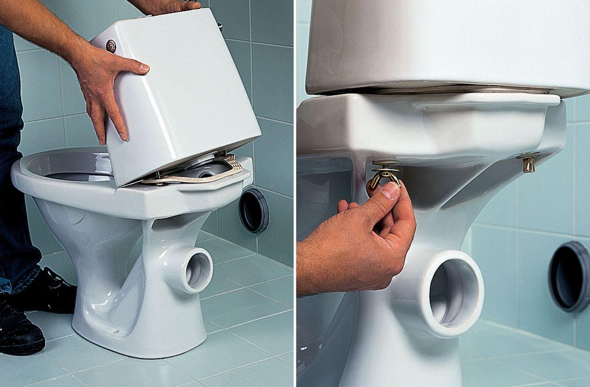 Oprava splachovače wc jika